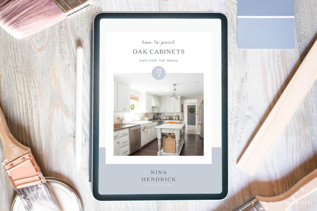 Painted Oak Cabinets Ebook