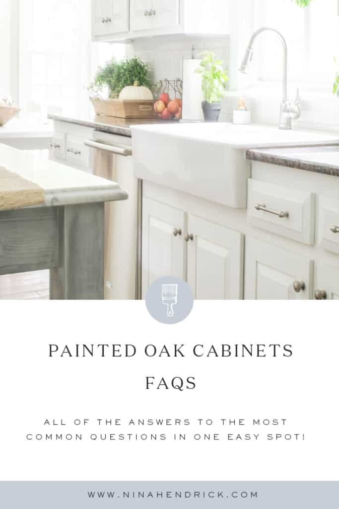 White Painted Oak Cabinets FAQs