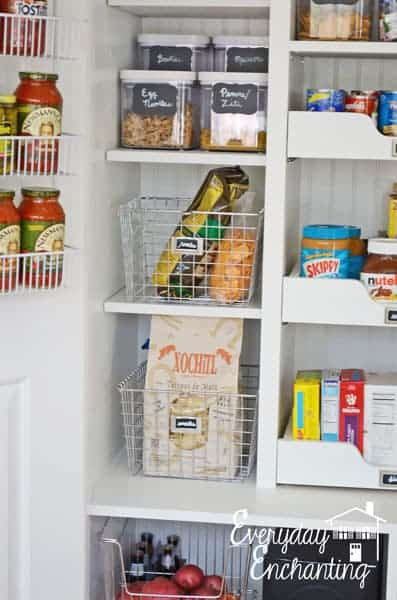Good Idea: Store non-perishables in the pantry :: OrganizingMadeFun.com