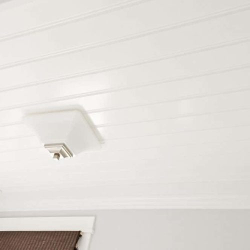 DIY Beadboard Ceiling