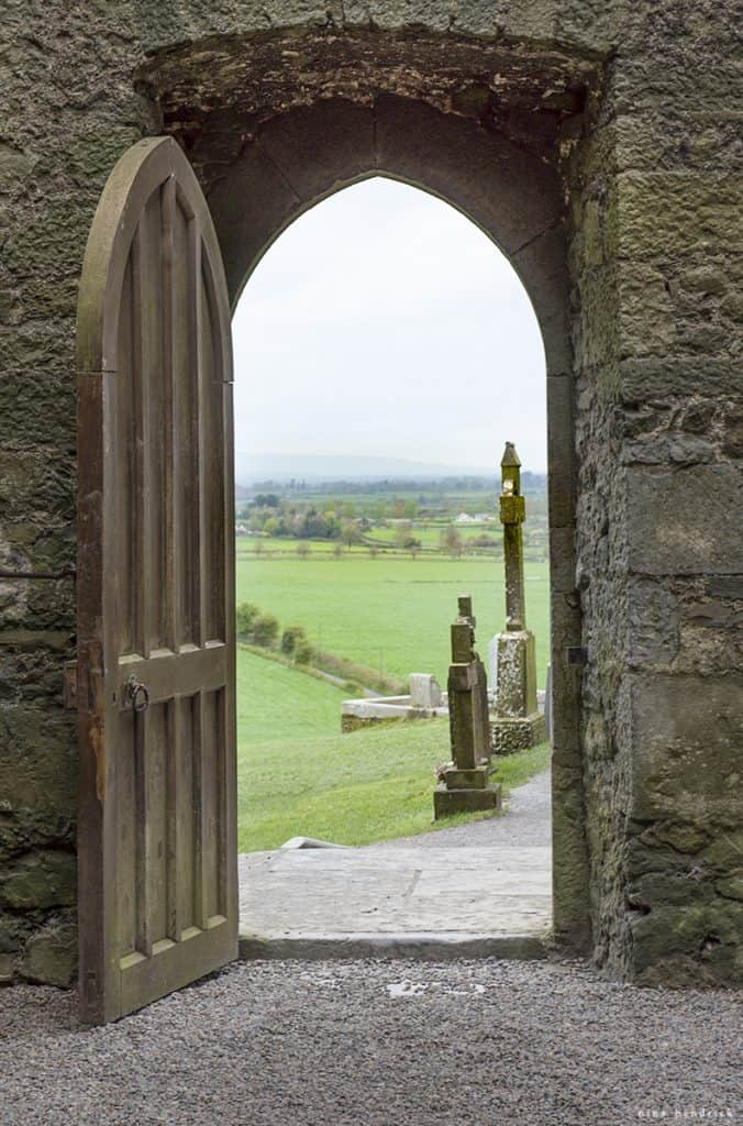 The Rock of Cashel | Our visit to the ancient Rock of Cashel site in Tipperary, Ireland. Tour the beautiful medieval churches and see the beautiful surrounding countryside...