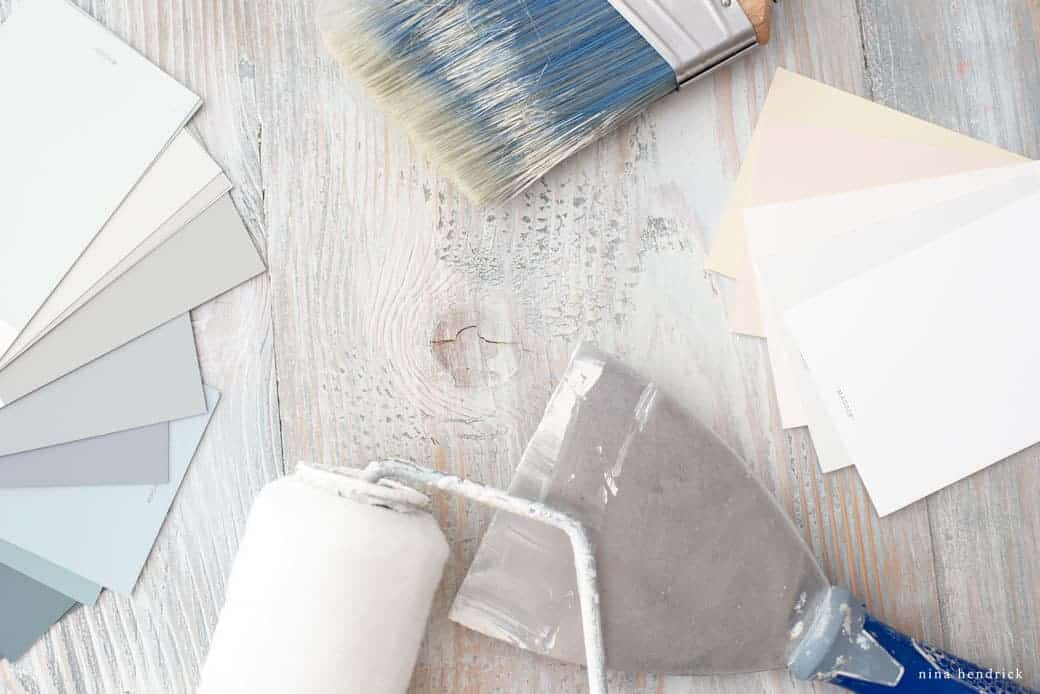 Room Painting Essentials | A guide to all of the essential tools you need to paint a room in your house.