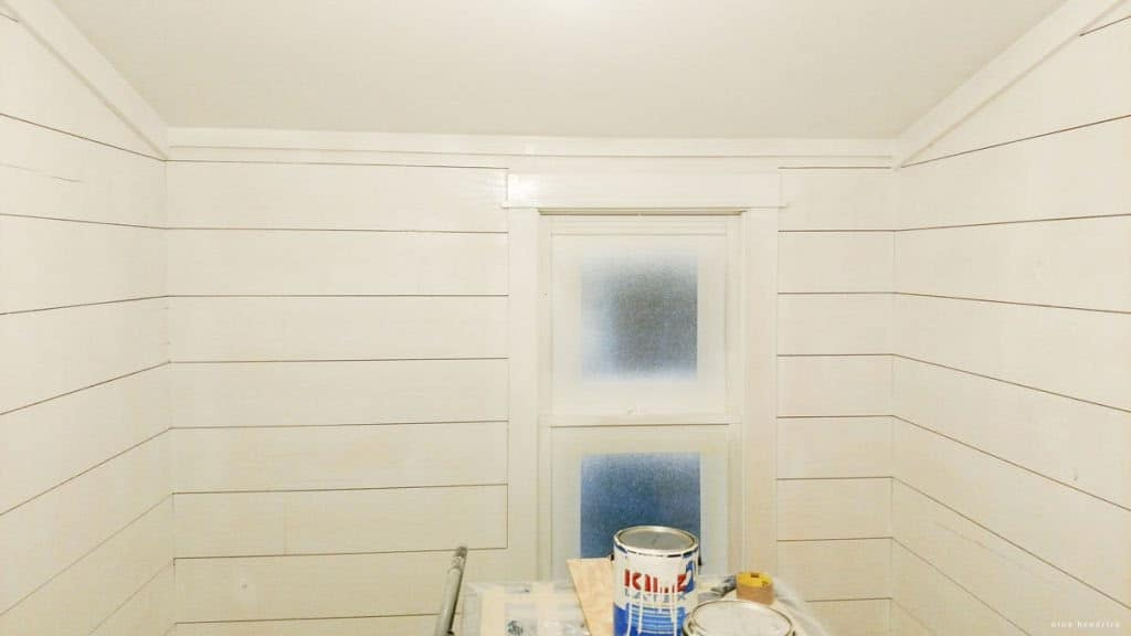 Paint Sprayer tips for planked walls