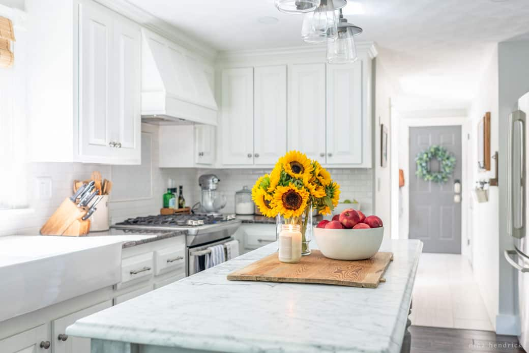Simple Kitchen Decorating Ideas | Simple Early Fall Kitchen Decorating Ideas Nina Hendrick Design Co