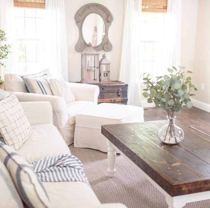 Summer Decorating Ideas for the Family Room