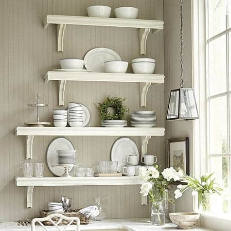 Crown Moulding Shelves