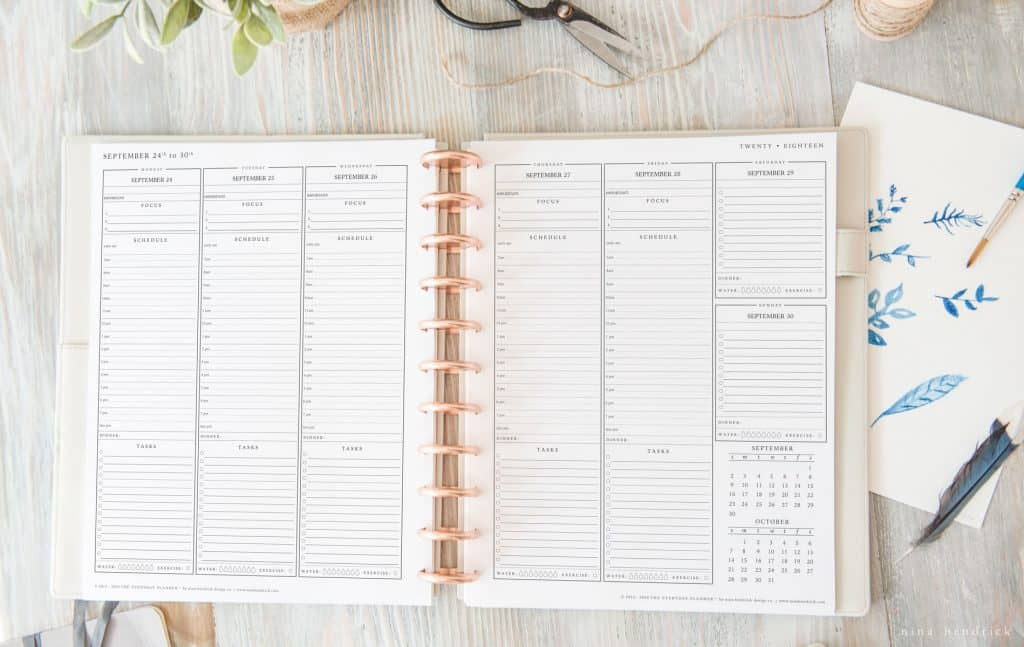 The Everyday Planner ™ for 2018 is now available for download! Print, organize, plan and tackle goals like never before. Turn your wishes into goals and those goals into successes with our tried-and-true system.