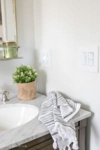Updating Builder-Grade Switches and Outlets in Bathroom
