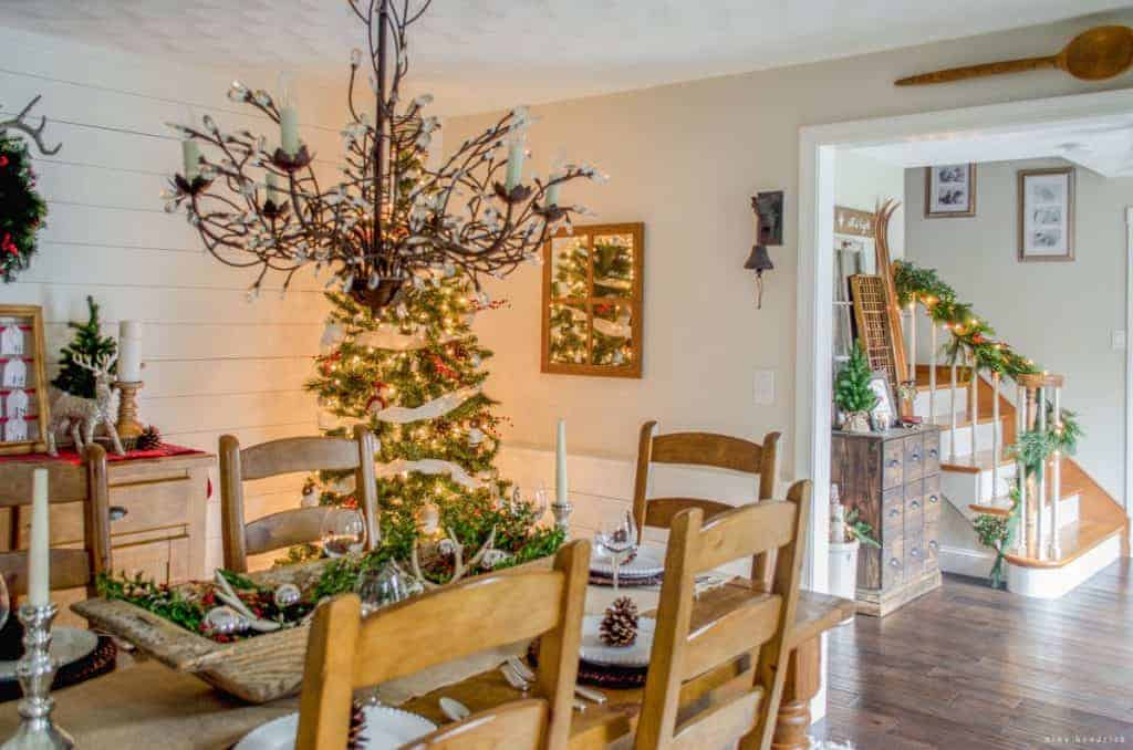 Inspiration From This Warm Cozy Rustic Farmhouse Christmas Home Tour