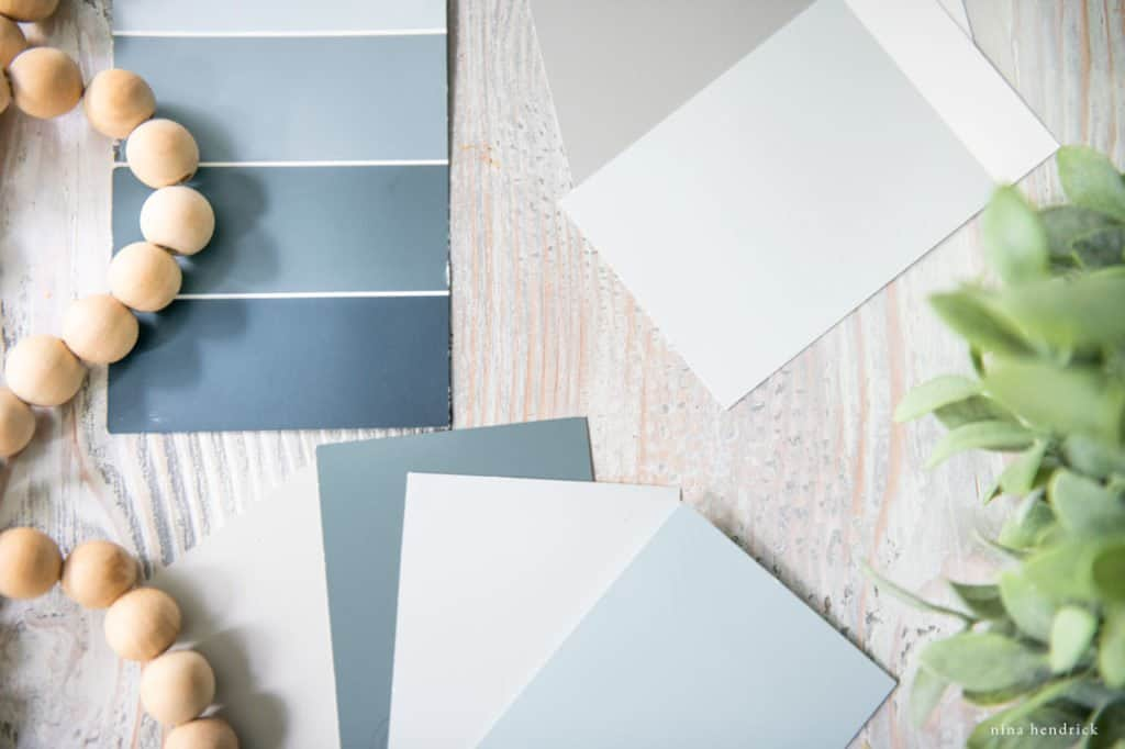 how to choose paint colors for a whole house color palette