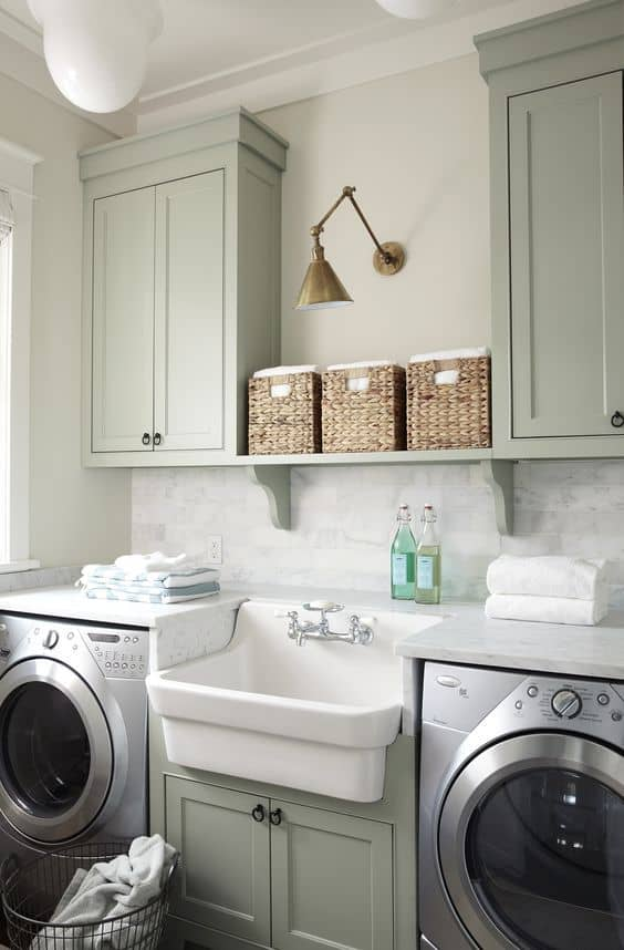 Laundry Room by Urban Grace Interiors