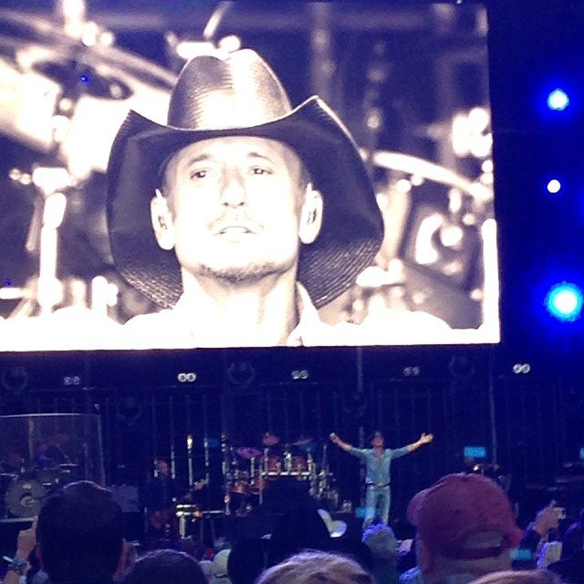 He is one handsome man! #timmcgraw