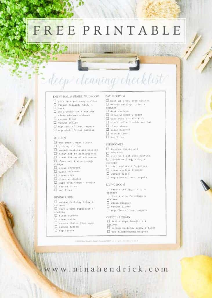 Free Printable Weekly Menu and Shopping List