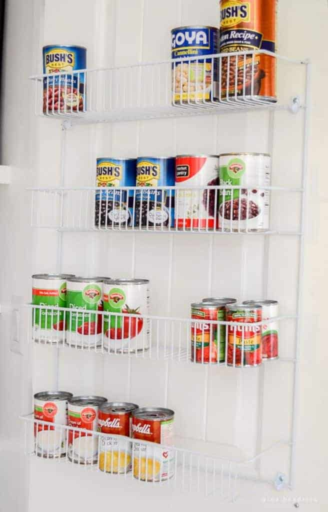 10 Tips for an Organized Pantry | Create an organized pantry with these 10 tips on making the most of your food storage space from @nina_hendrick!